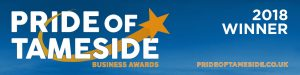 Pride of Tameside logo