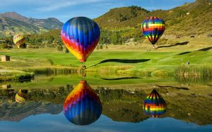 Corporate Recovery Hot Air Balloon