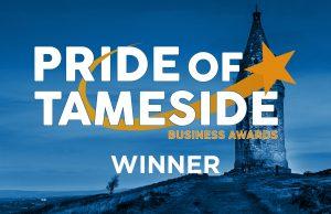 Pride of Tameside Winners Badge